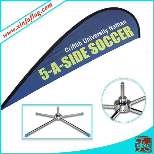 Custom Design Teardrop Flag/Outdoor Flag/Wind Flag/Flying Flag