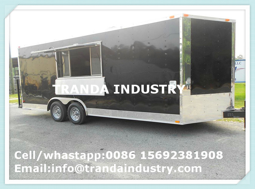 New 2017 7X16 7 X 16 Vnose Enclosed Cargo Trailer W/Ramp