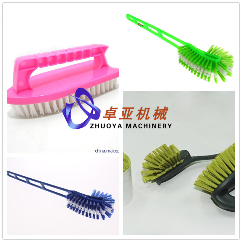 Economic Plastic Brush Making Machine for Washroom Toilet/Shoe Brush/Cleaning Brush