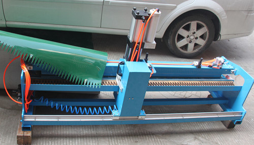 Finger Puncher for PVC Conveyor Belts, Light Weight Belt