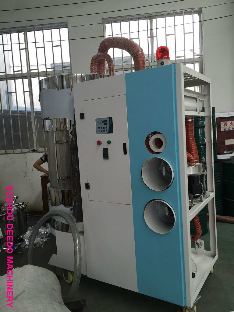Plastic Dehumidifying Dryer with Loader All in One Compact Dryer