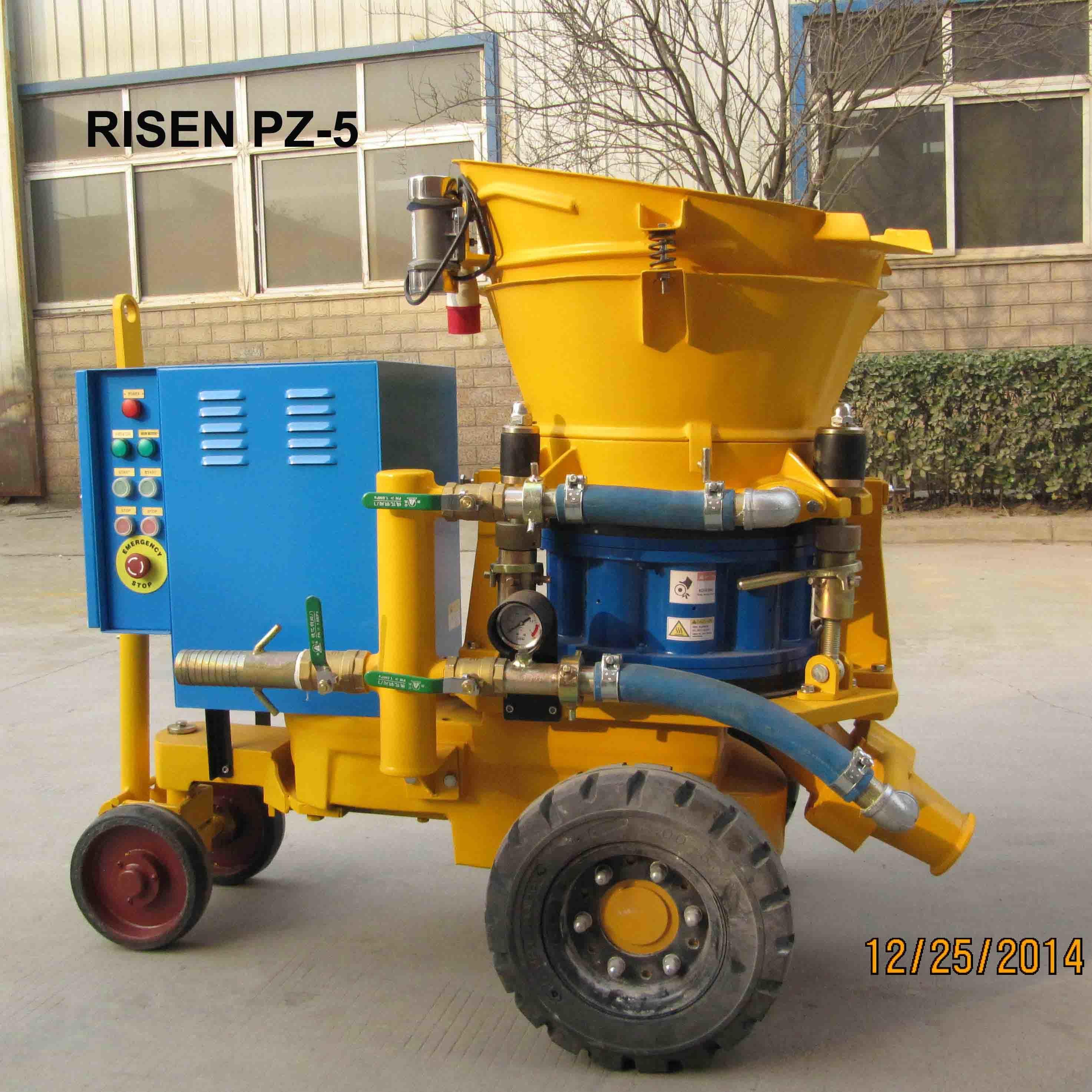 Risen PZ-5 Dry-Mix Gunite Machine