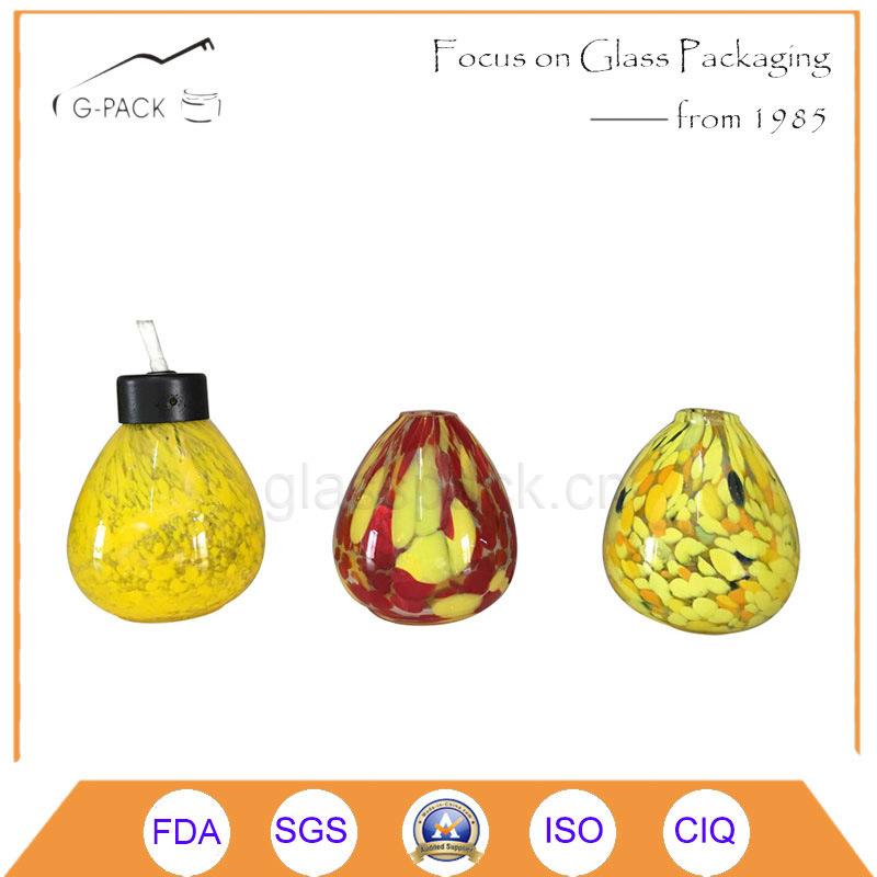Water Drop Design Glass Oil Lantern, Kerosene Lantern