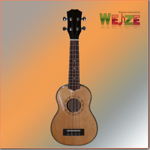High Grade Black Wood Ukulele