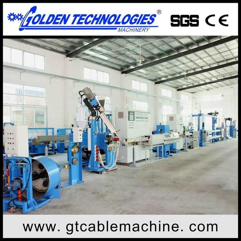 China PVC Insulation Electrical Cable Machine
