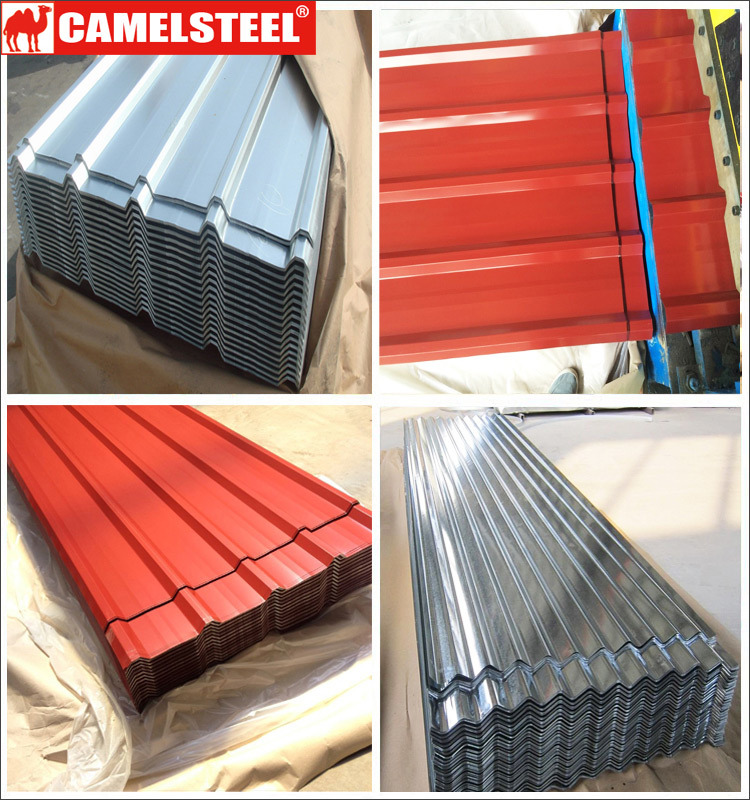 Coated Color Metal Roof Sheets From Golden Supplier Camelsteel