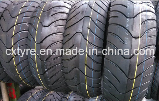 Scooter Tyre Motorcycle Tyre (120/70-12 TL 130/70-12 TL 130/60-13 TL)