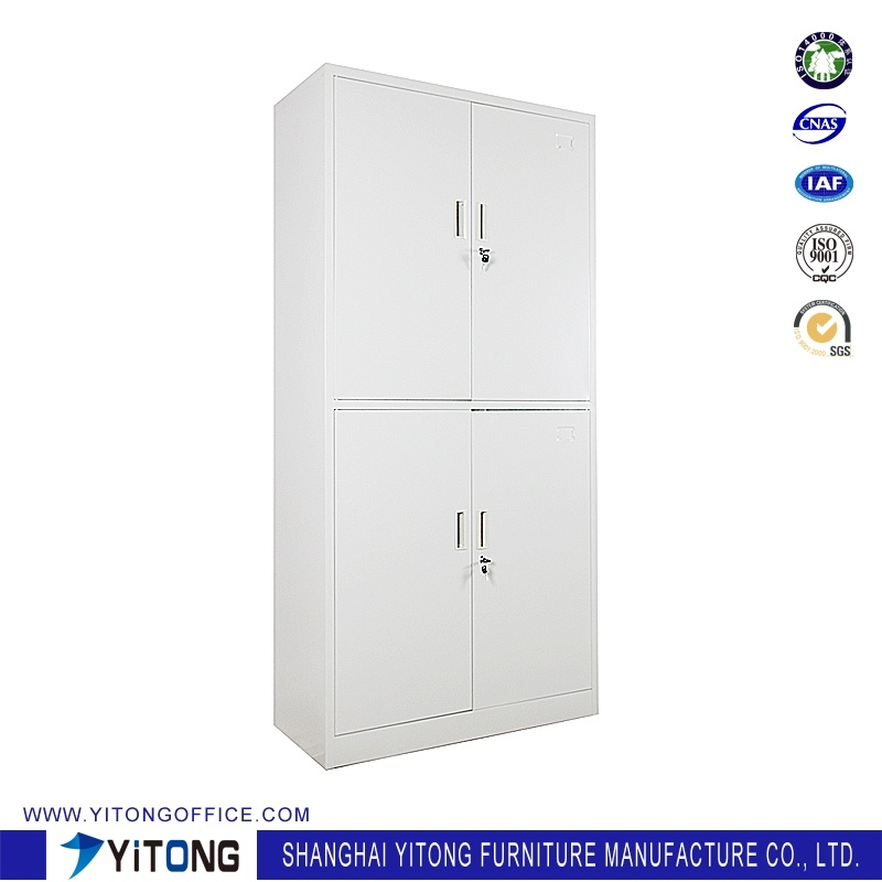 Yitong 4-Door Metal Storage Cabinet / Office Use Steel File Cabinet