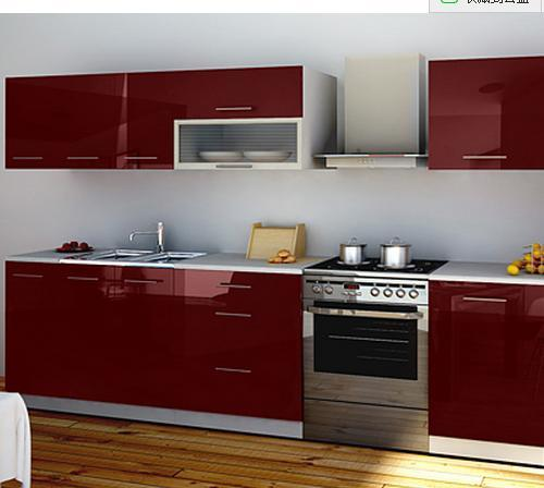 China glass sliding door vinyl wrap wood carved kitchen for White vinyl kitchen cabinets