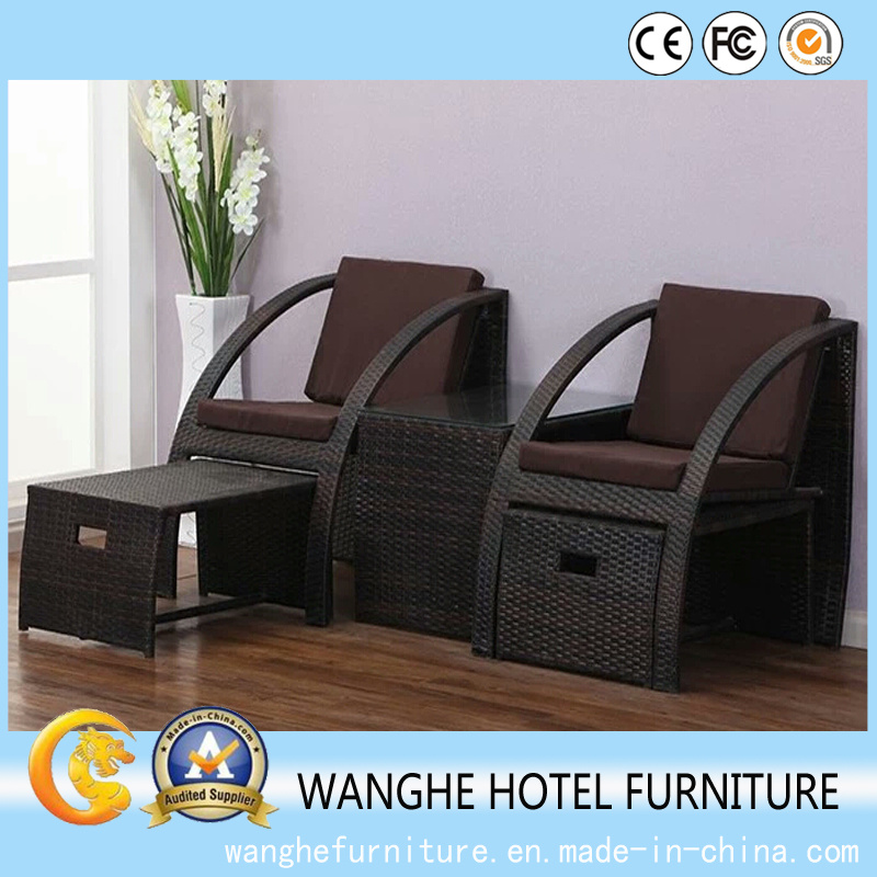 Living Room Furniture Used Leisure Rattan Furniture for Sale