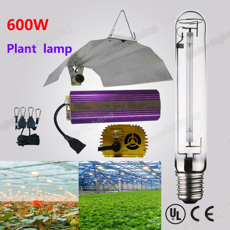 High Lumen Output Sodium Lamp 600W E40 HPS