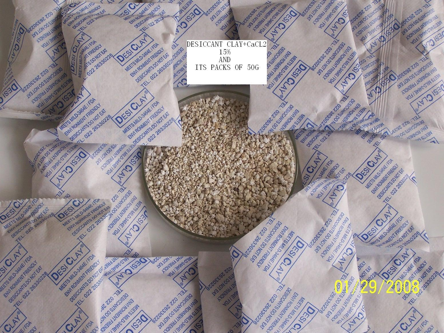 High Quality of Dessiccant Clay