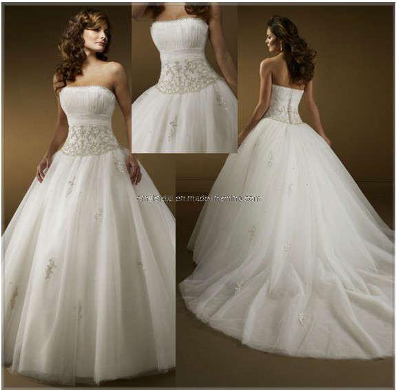 Elegant Ball Gown Wedding Dresses : China elegant ball gown wedding dresses wd