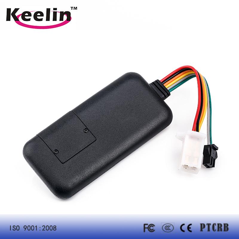 Waterproof GPS Tracker for Vehicle with 9V- 72V Voltage Range (TK119)