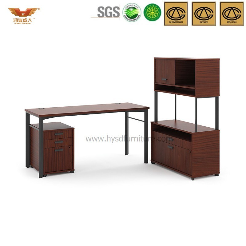 2017 New Style Modern L Shape Modular Executive Office Director Desk with Drawer Table Right Return (HYL317-1)