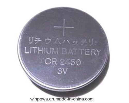 Cr2450 3V Lithium Battery Cell