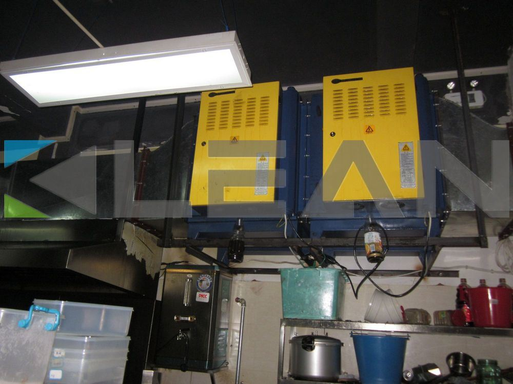 China Electrostatic Air Filters For Commercial Kitchen Ventilation System China Kitchen
