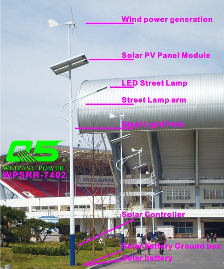 WPSRR-7402 3~15m Municipal Road Hot DIP Galvanized Steet Light Pole style