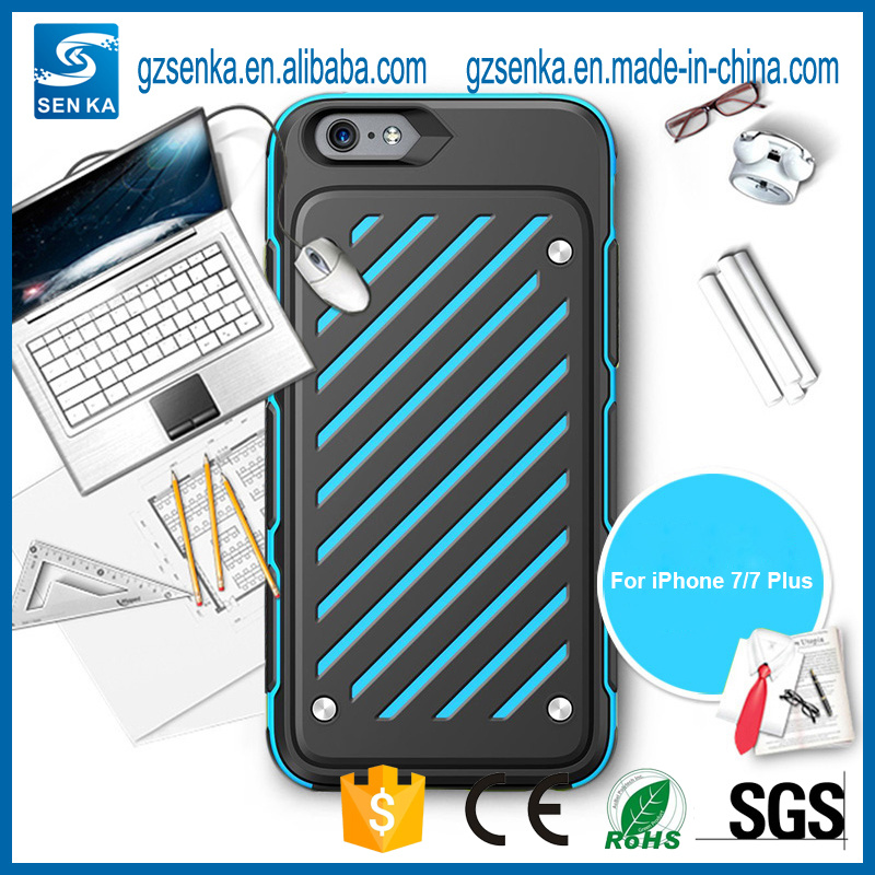 Hybrid Heavy Duty Shockproof Full-Body Protective Case with Dual Layer for iPhone 7/7 Plus