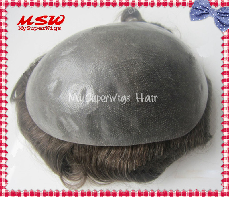 V-Looping Hair Clear Thin Poly Base Hair System