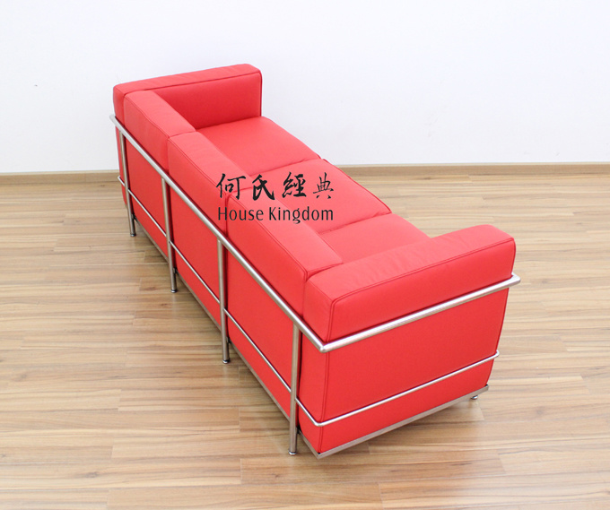 Le Corbusier Chair and Sofa (7017)