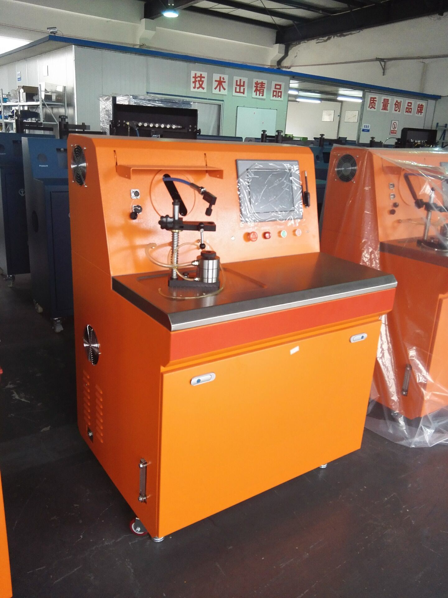 Accurate High Quality Injector Test Bench