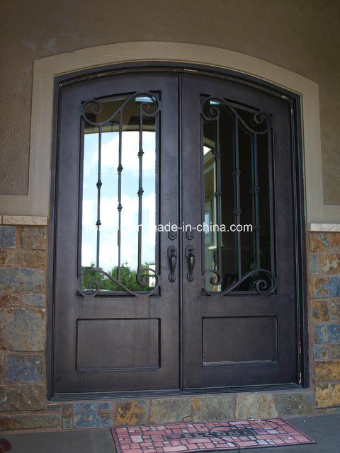 Beautiful Decorative Hand-Crafted Wrought Iron Front Doors