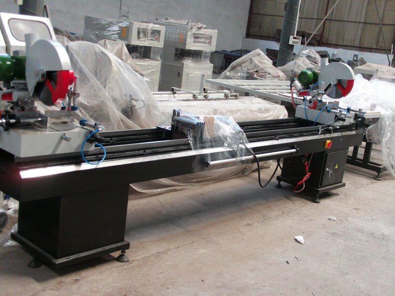 PVC/UPVC Windows Cutting Machine, PVC/UPVC Profile Cutting Machine (SJ02-3500 SJB2-350*3500)