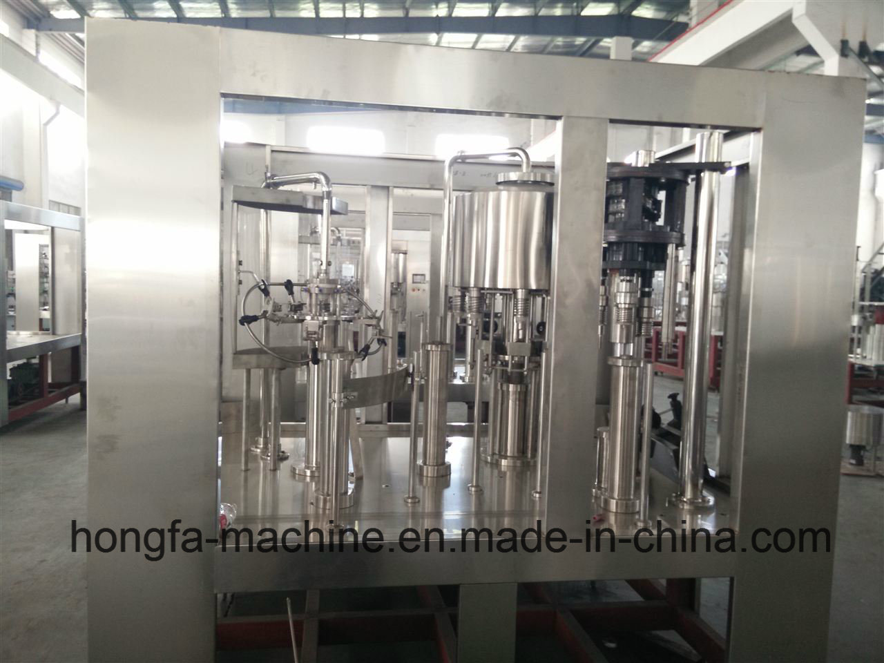 14-12-5 Full-Automatic Water Bottling Machine