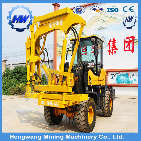 Hydraulic Static Pile Driver, Photovoltaic Installation Pile Driver (HG300-L)