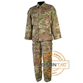 Military Camouflage Uniform with ISO Standard