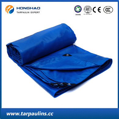 PVC Waterproof Coated Tarpaulin/Tarp for Truck/Ship Cover