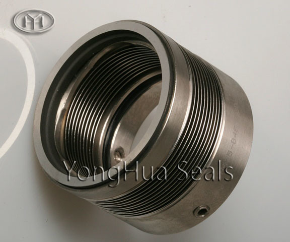 China metal bellows seal yh
