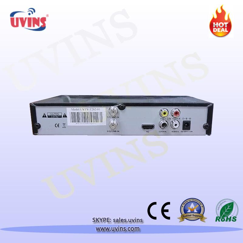 DVB-S2/T2 Set-Top-Box Satellite Receiver Terrestrial Signal TV Receiver