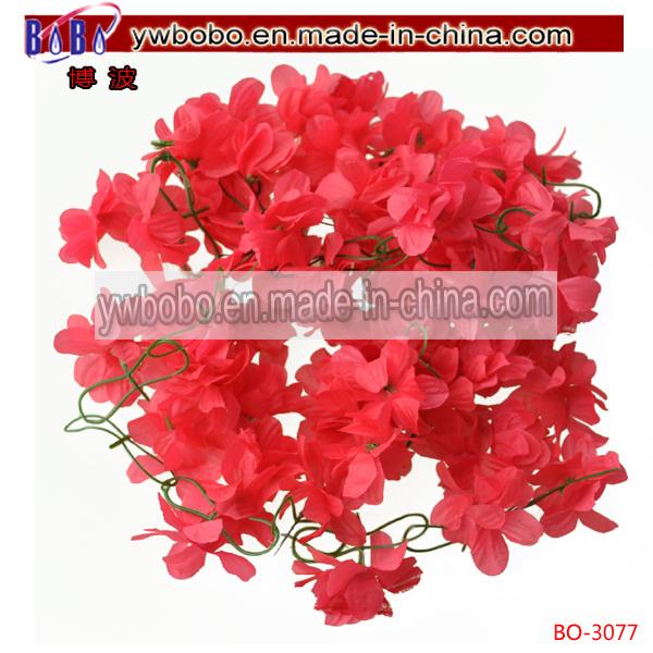 Artificial Fake Daisy Flower Bouquet Wedding Party Home Decor Craft (BO-3080)