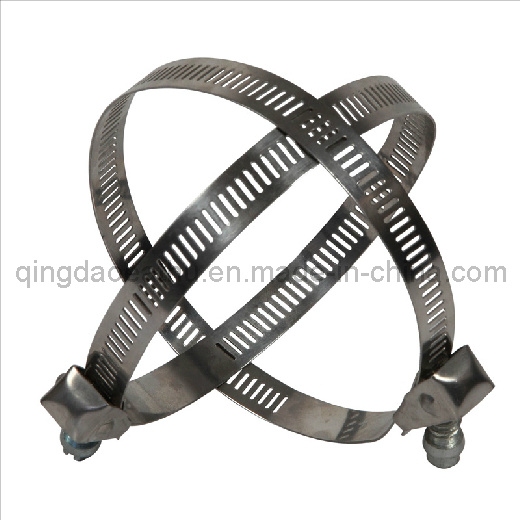 Stainless Steel Quick Release Pipe Clamp