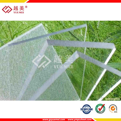 8mm 10mm 25mm Polycarbonate Solid Sheet with 2 Sides UV