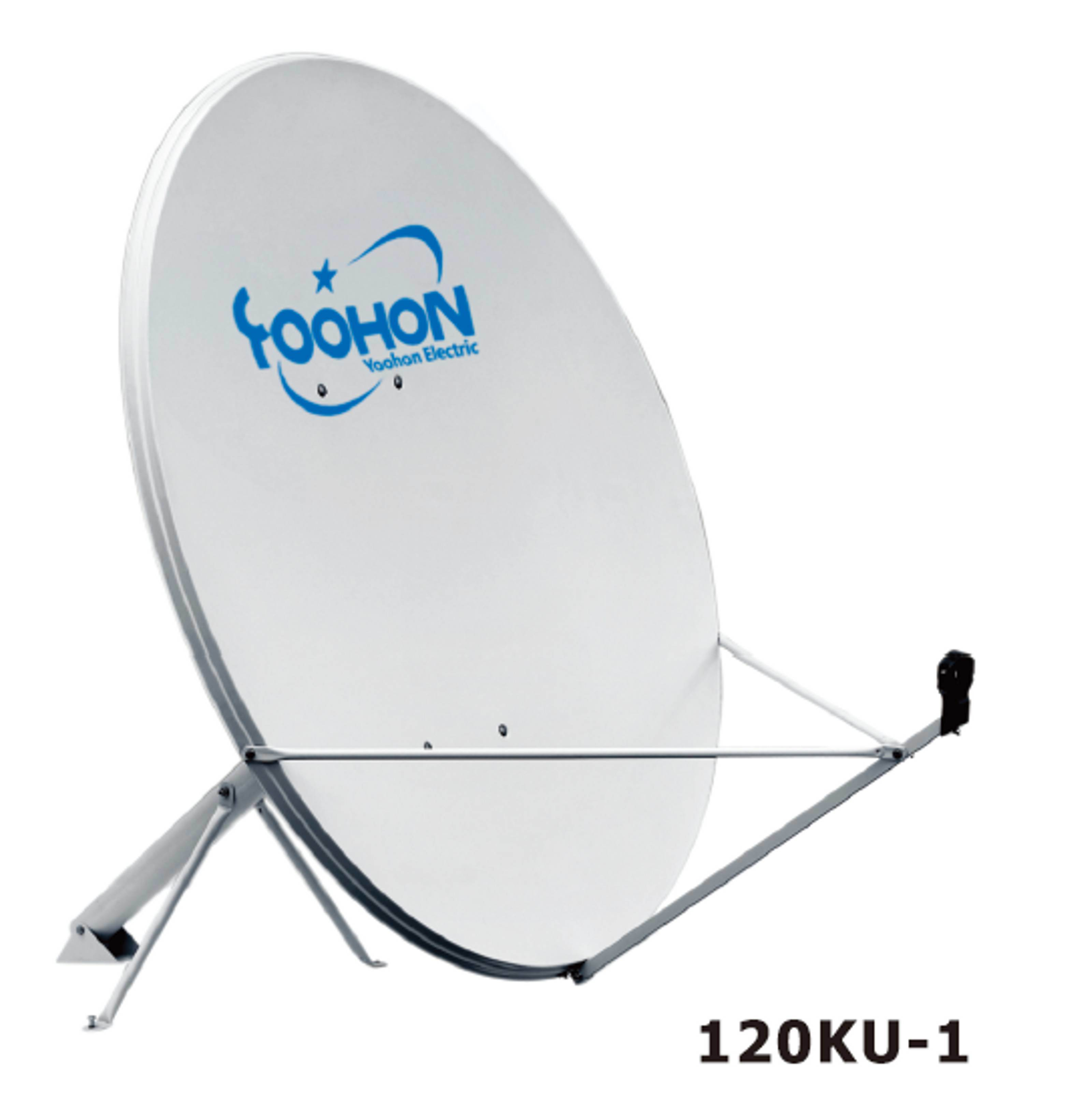 120cm Satellite Dish Antennas with CE Certificate