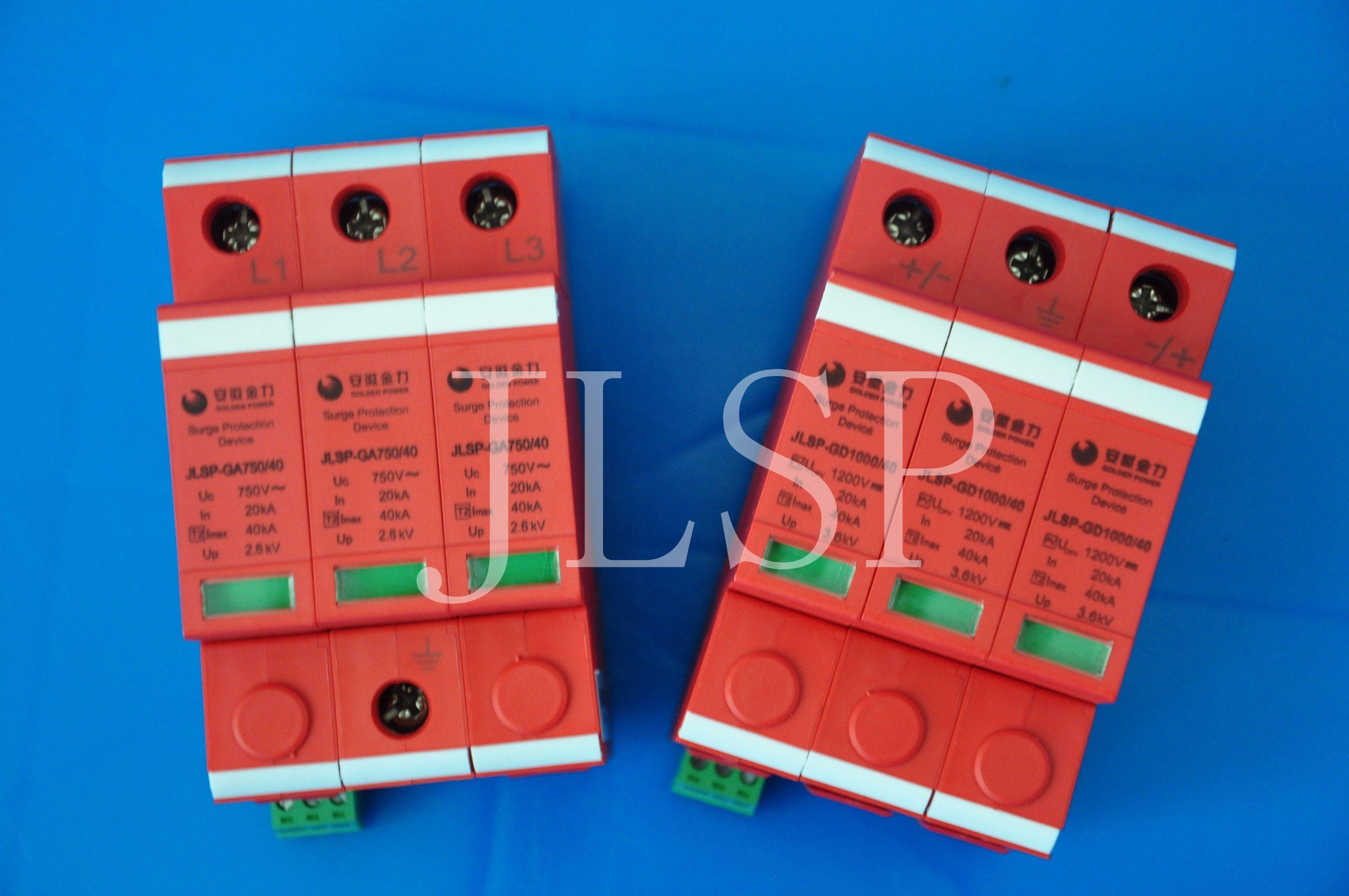 PV Application 20-40ka Solar 3p DC 1000V SPD, 17003