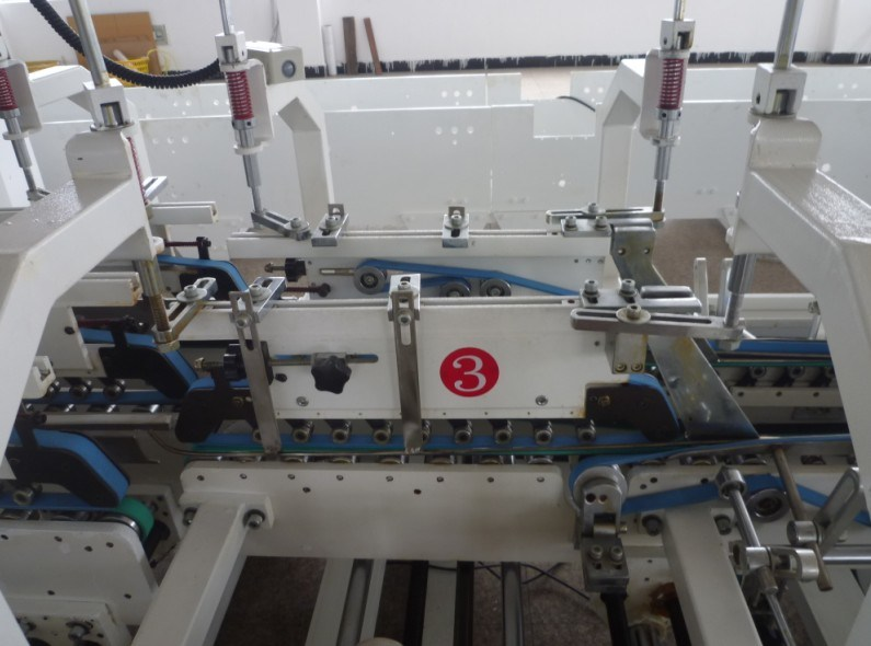 Gdhh Automatic Folder Gluer Machine with Bottom Lock for Three Point Box