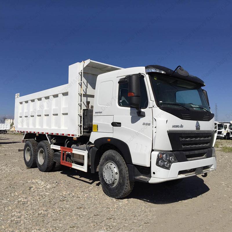 Sinotruk Cnhtc HOWO A7 10-Wheel Tipper Dump Truck for Transportation