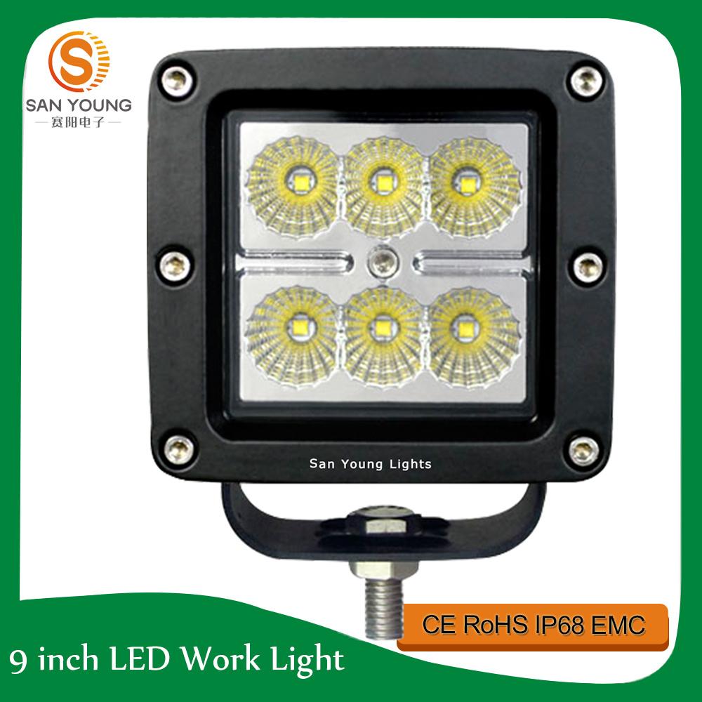 4inch LED Driving Light Waterproof 10V-30V DC Offroad LED Light Car Truck Jeep ATV SUV Ute