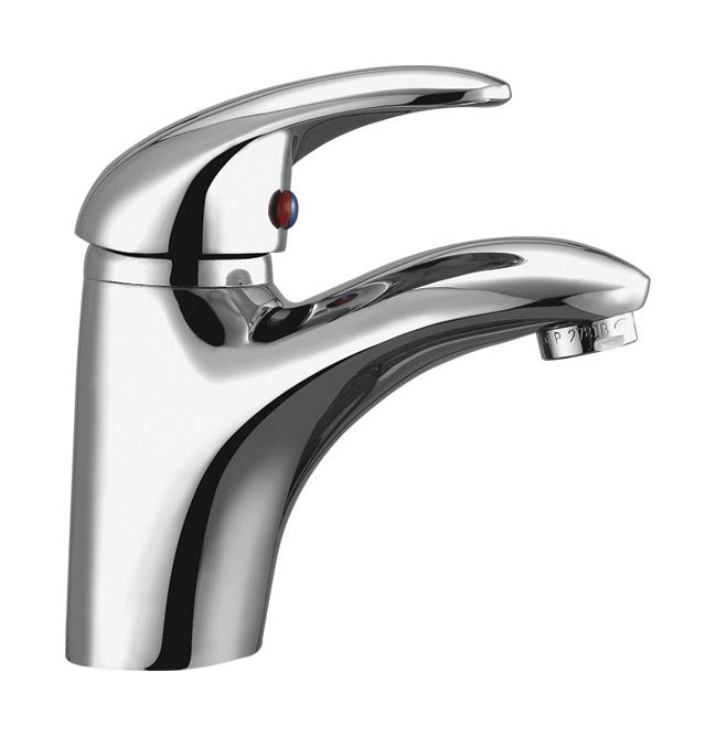 Single faucets bathroom - Single Lever Lavatory Faucet Pugy40 01 China Faucet