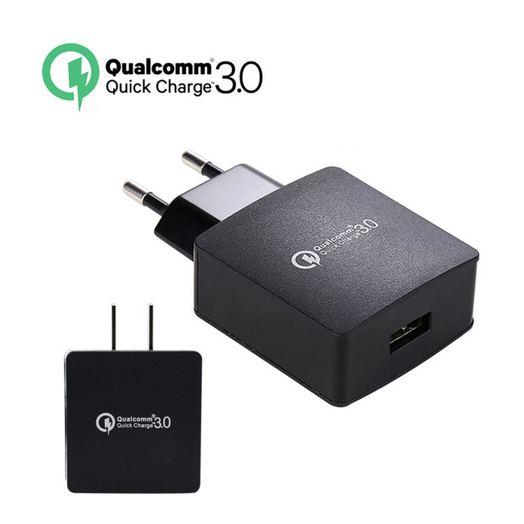 EU/Us USB Travel Charger Adapter USB Charger QC3.0 Quick Charger