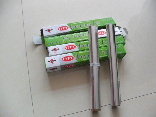 Aluminium Household Foil for Food Use
