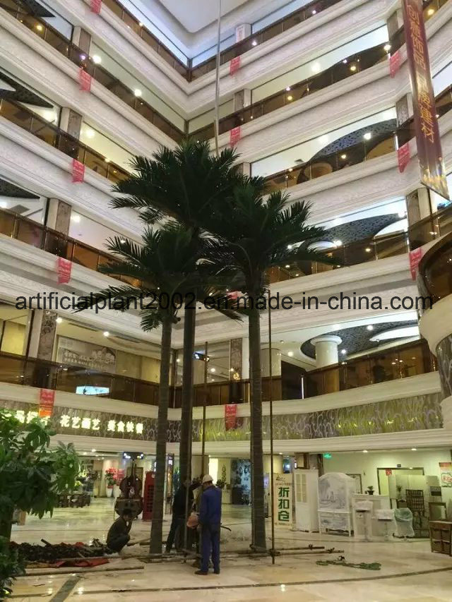Indoor Artificial Palm Tree Decoration Coconut Tree for Sale