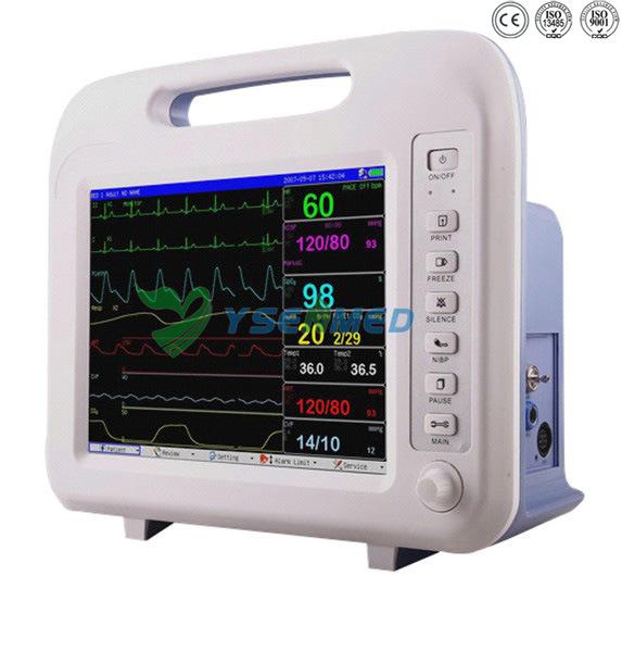 Hospital Medical Vital Signs Cardiac Multi Parameter Patient Monitor