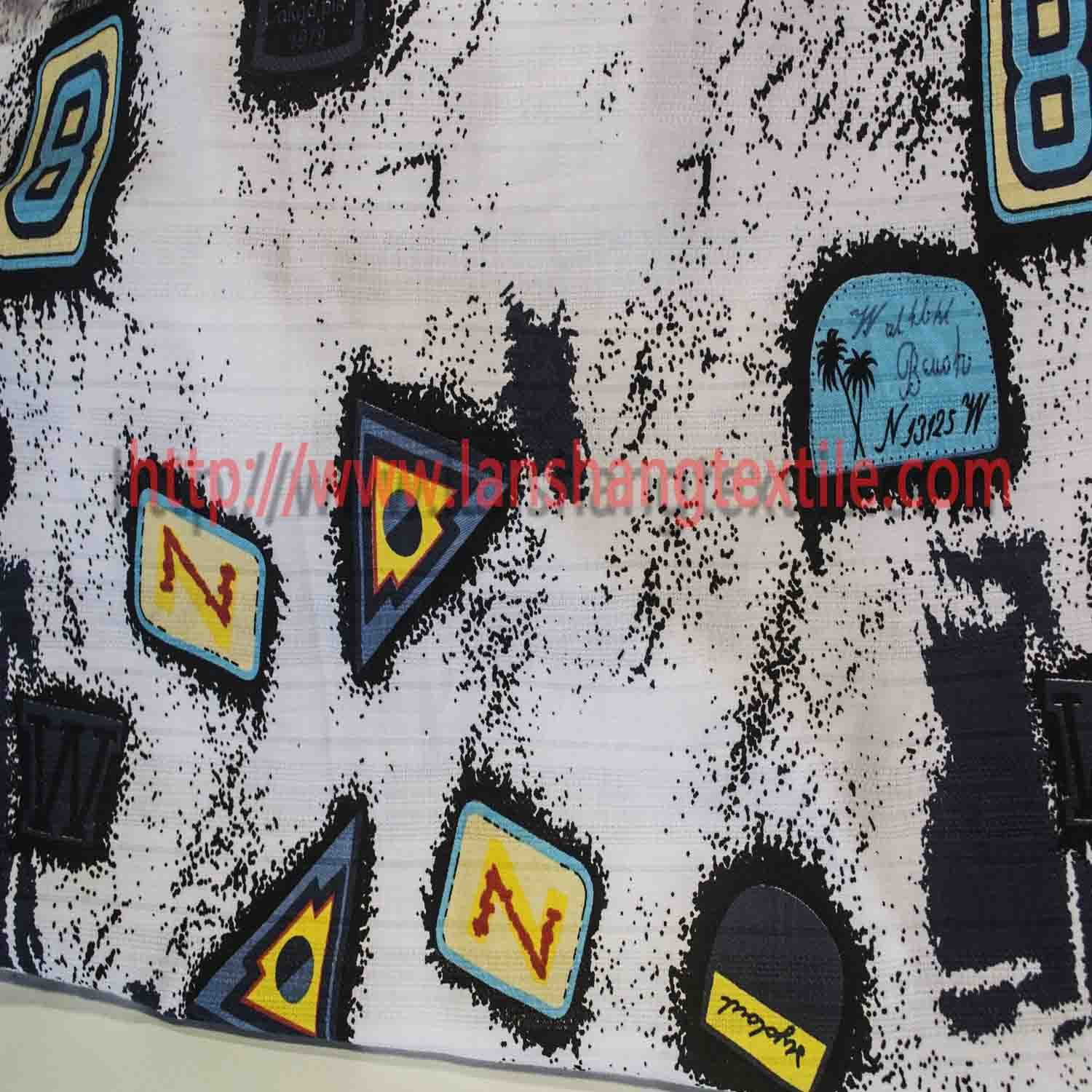 Dyed Fabric Dyed Jacquard Fabric Printing Fabric Cotton Fabric for Woman Dress Coat Skirt Children' S Garment.