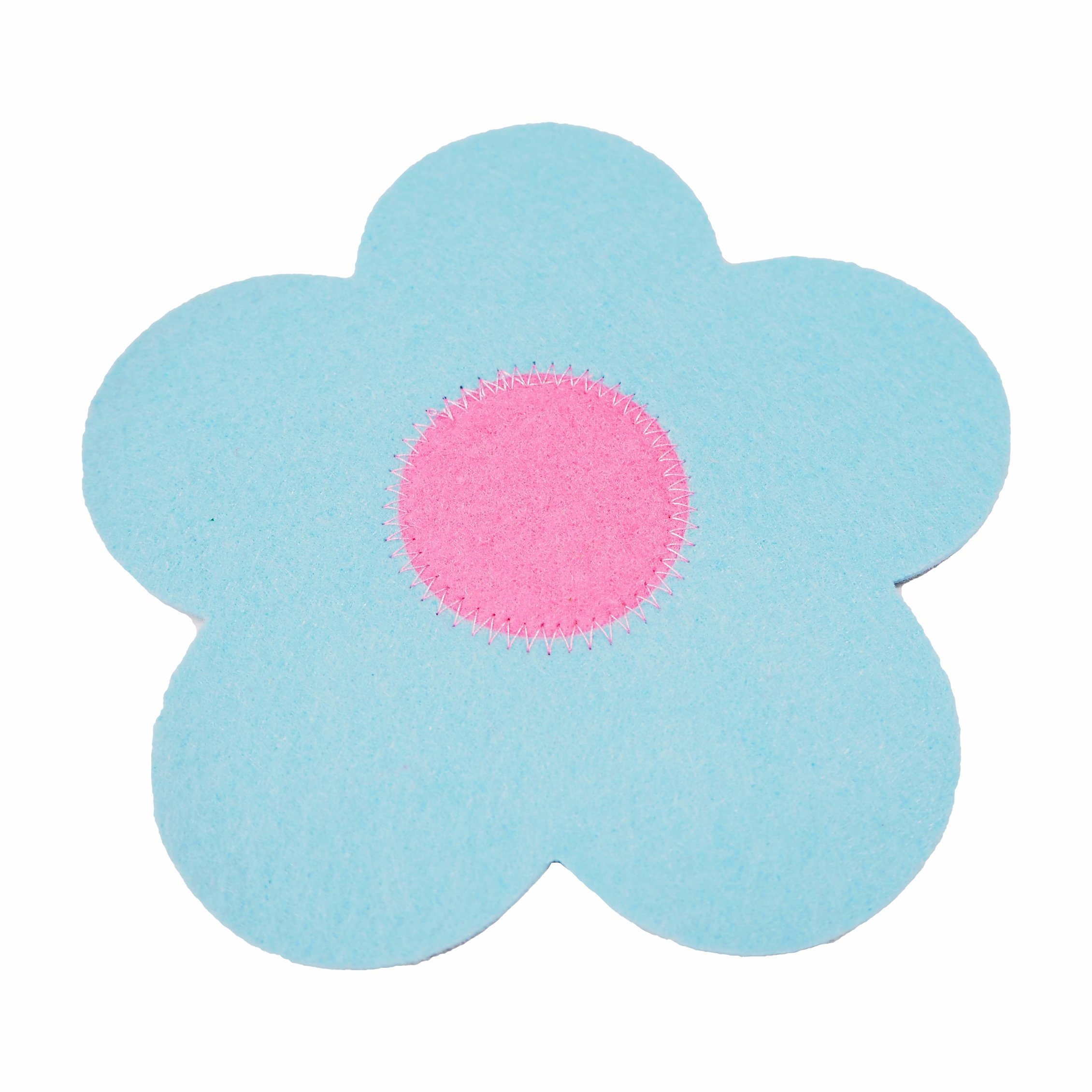 Colorful 100% Felt Sewing Coasters for Cups & Decorations