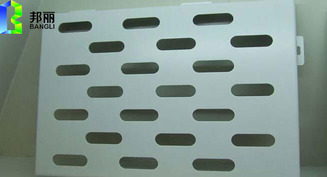 Punched Aluminum Panel Construction Material with Multi Shaped Holes